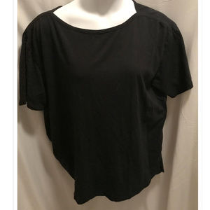 Size 1X 22/24 Woman Within T-Shirt Black